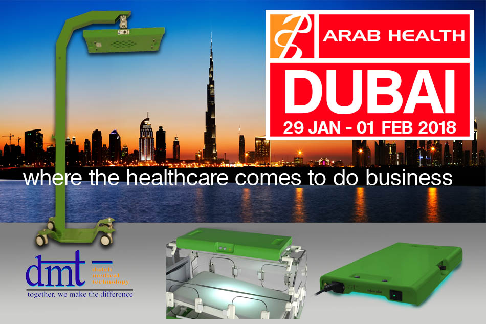 Arab Health 2018Dubai 29 Jan - 01 Feb 2018